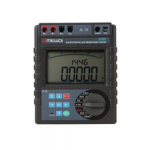 MEWOI4700 0.0001Ω~30.00kΩ(≥2A)Equipotential&DC low resistance tester/contact resistance tester